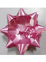 Бантик звёздочка розовый