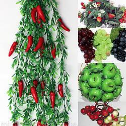 Декоративные овощи, фрукты и ягоды