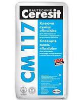 """Клей для плитки эластичный """"Ceresit"""" СМ 117 (25 кг)"""