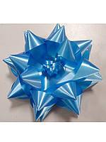 Бантик звёздочка голубой, фото 1