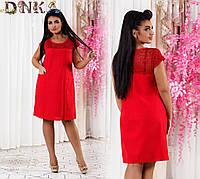 Платье батальное (3 цвета ), фото 1