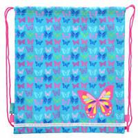Сумка для обуви SB-01 Butterfly blue, 40*35 555358