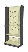 Стеллаж-шкаф, стойка для нижнего белья, детской одежды 06-25