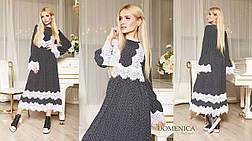 Превосходное романтическое платье женское  свободного кроя, фото 2