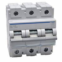 Автоматический выключатель 80 А, 3п, С, 10 kA, Hager HLF380S