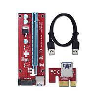 PCI-E райзер VER.007S с SATA подключением