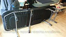 Кровать карповая M-Elektrostatyk с регулировкой (нагрузка до 120 кг) (L8), фото 2