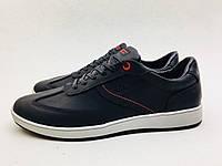 Мужские кроссовки ECCO черные *крейзи*