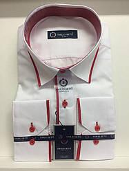 Рубашка однотонная Emilio Betti