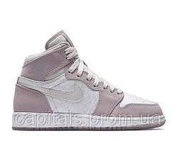 "Женские баскетбольные кроссовки Air Jordan 1 High HC ""White/Lavender"""