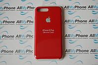 "Накладка оригинальная ""Apple Silicone Case"" для iPhone 7 Plus / 8 Plus Red, фото 1"