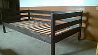 Кровать деревянная 90*190 Нотка