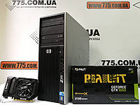 Компьютер HP Z400, Intel Xeon W3565 3.46GHz, RAM 12ГБ, HDD 500ГБ, GeForce GTX 1050 2ГБ(новая), фото 1