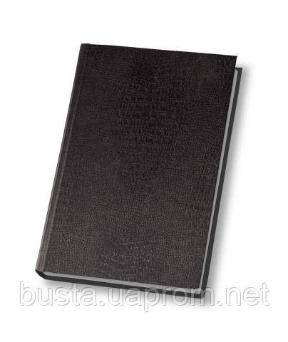 Ежедневник не датированный 19.5х13см черный