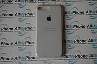"Накладка оригинальная ""Apple Silicone Case"" для iPhone 7 Plus / 8 Plus White"