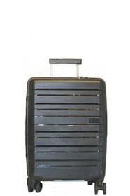 Дорожный чемодан V&V Travel CONWOOD PPT002_55 черный, красный, фиолетовый