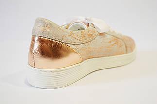 Кроссовки женские золотистые Aspena 1729, фото 2