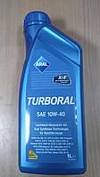 Моторное масло Aral Turboral SAE 10W-40 1L. 22107 ― производства Германии, фото 1