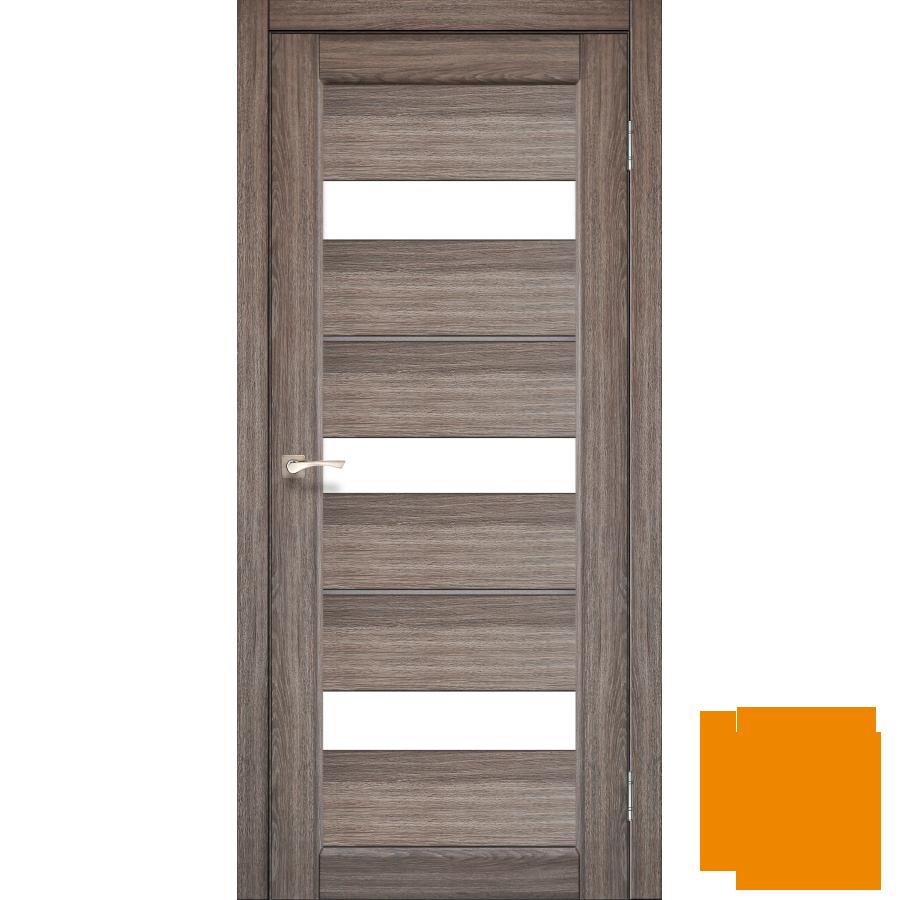 """Межкомнатная дверь коллекции """"Porto deluxe"""" PD-12 (дуб грей)"""