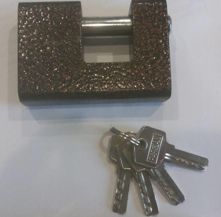 Замок навесной ПЕШКА Е-90 лазерный ключ