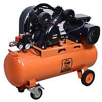 Компрессор ременной двухцилиндровый Limex expert CB 100360-2.5 (360 л/мин, 100 л)
