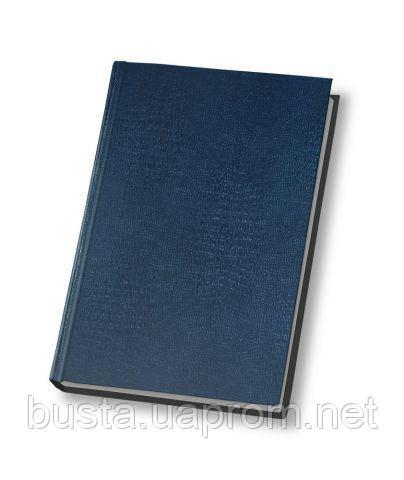 Ежедневник не датированный 19.5х13см синий