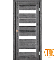 "Межкомнатная дверь коллекции ""Porto deluxe"" PD-12 (дуб марсала)"