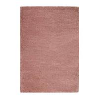Ковер IKEA ADUM 133x195 см длинный ворс ярко-розовый 703.540.26