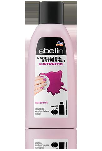 Жидкость для снятия лака без ацетона Ebelin 125 ml.