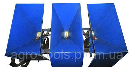 Часникосаджалка для бульб 3-рядна (ЧС7), фото 2