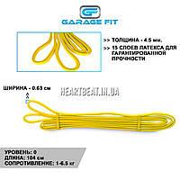 Резиновая петля сопротивления жгут Garage Fit (1-6.5 кг)