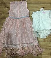 Платье на девочку оптом, F&D, 8-16 лет,  № 9488, фото 1