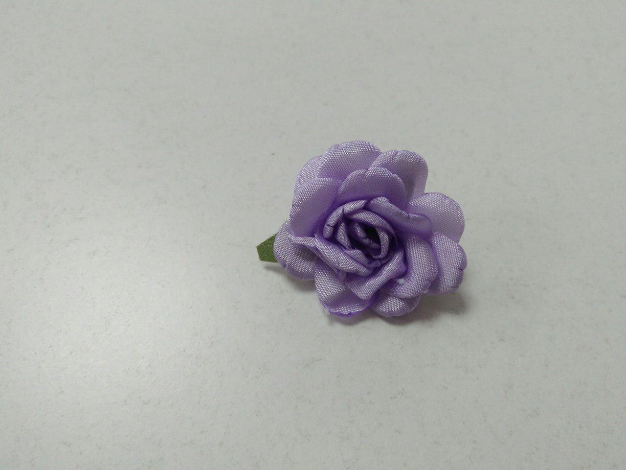 Цветы из ткани для рукоделия/розы из ткани сиреневые