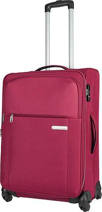 Дорожный чемодан Carlton X-PLUS средний,108J468;31 бордовый , фото 2