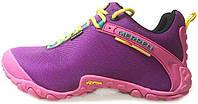 Женские кроссовки Merrell Continuum Gore-Tex Purple/Pink (Меррел) фиолетовые