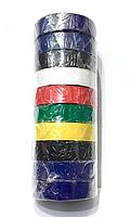 Изолента 20м цветная, 10шт.упаковка