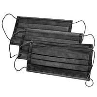 Маски медичні Одетекс на резинці - 40 шт/уп, чорні