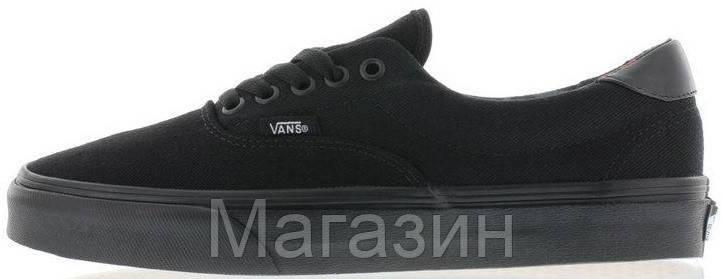 Мужские кеды Vans Era 59 Mono T&L Black Ванс черные