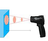 Пірометр Mestek IR01C (IR: -50 ... +550 °C; 0-100% - вимірювання вологості повітря) D:S: 12:1; EMS: 0.10-1.00, фото 4