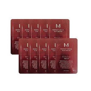 ББ крем MISSHA M Perfect Cover BB Cream sample, 21 - Light Beige - светлый беж, 1 мл