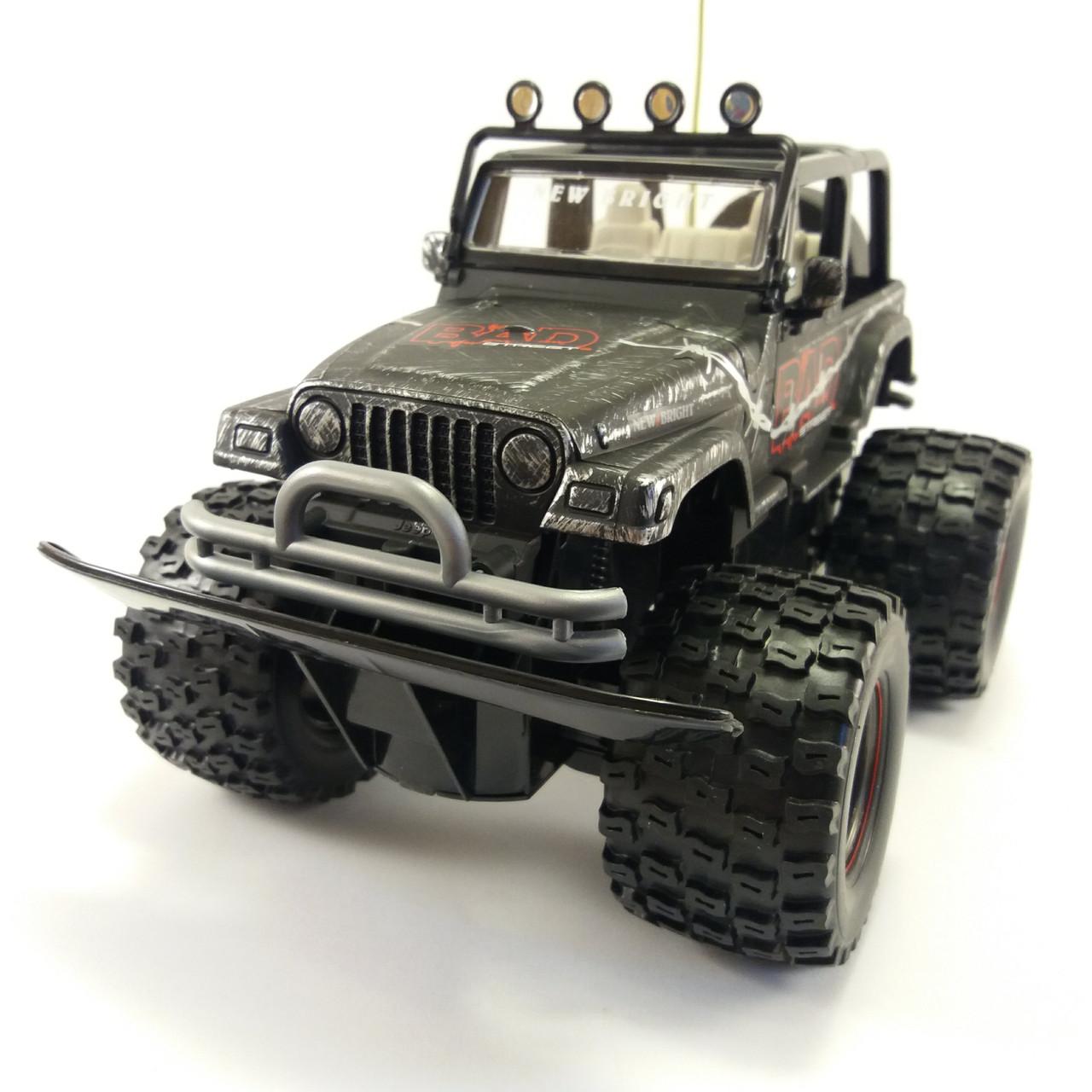 "Автомобиль на радиоуправлении Jeep ""Bad Street Wrangler"", масштаб 1:20 NEW BRIGHT 22099"