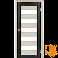 """Межкомнатная дверь коллекции """"Porto combi color"""" PC-04 (дуб беленый/венге)"""