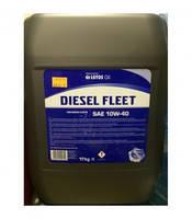 LOTOS DIESEL FLEET 10w-40 180кг полусинтетическое моторное масло