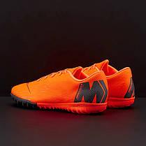 Сороконожки Nike MercurialX Vapor 12 Academy TF AH7384-810 (Оригинал), фото 2