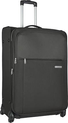 Большой дорожный чемодан Carlton X-PLUS на 4-х колесах, 108J478;01 черный, фото 2