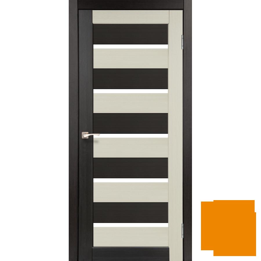 """Межкомнатная дверь коллекции """"Porto combi color"""" PC-05 (дуб беленый/венге)"""