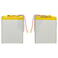 Батарея (АКБ, аккумулятор) для китайских планшетов/телефонов, универсальный, 1700 mAh, 75х58х3,7 мм