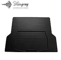 Коврики резиновые авто UNI(универсальный) Коврик багажника L (137см Х 109см). Коврик багажника Черный