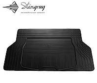 Коврики резиновые авто UNI(универсальный) Коврик багажника S (140см Х 80см). Коврик багажника Черный