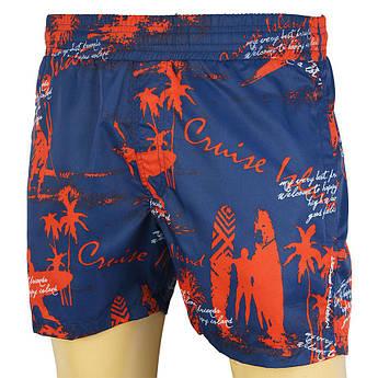 Мужские стильные шорты Maraton 1051 с ярким принтом